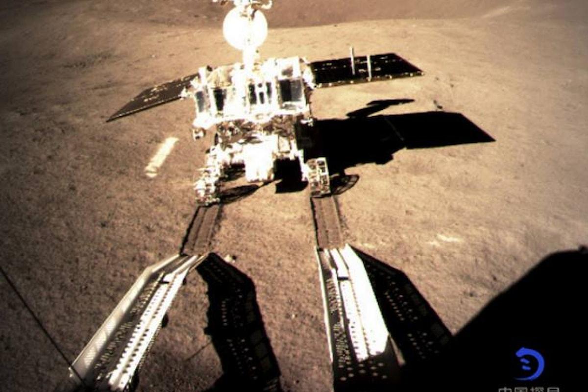 Una sonda cinese è atterrata sul lato oscuro della Luna