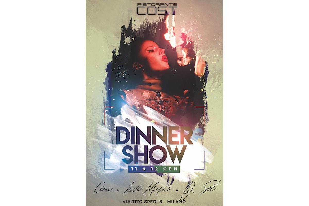 Cost Milano: ripartono dinner show e dj set