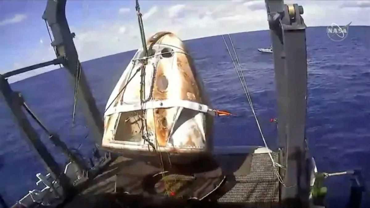 Conclusa con successo la missione di prova della Crew Dragon di SpaceX