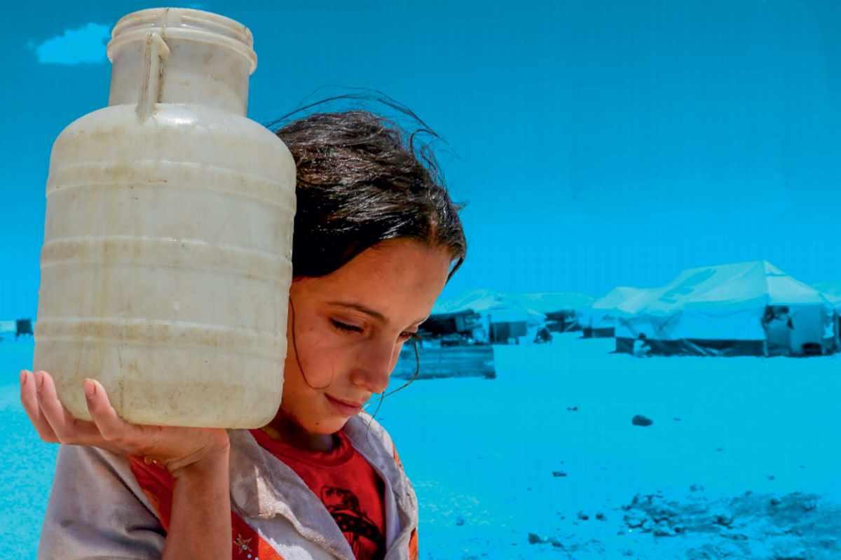 In occasione della Giornata Mondiale dell'acqua l'Unicef ci ricorda che l'acqua è sotto attacco