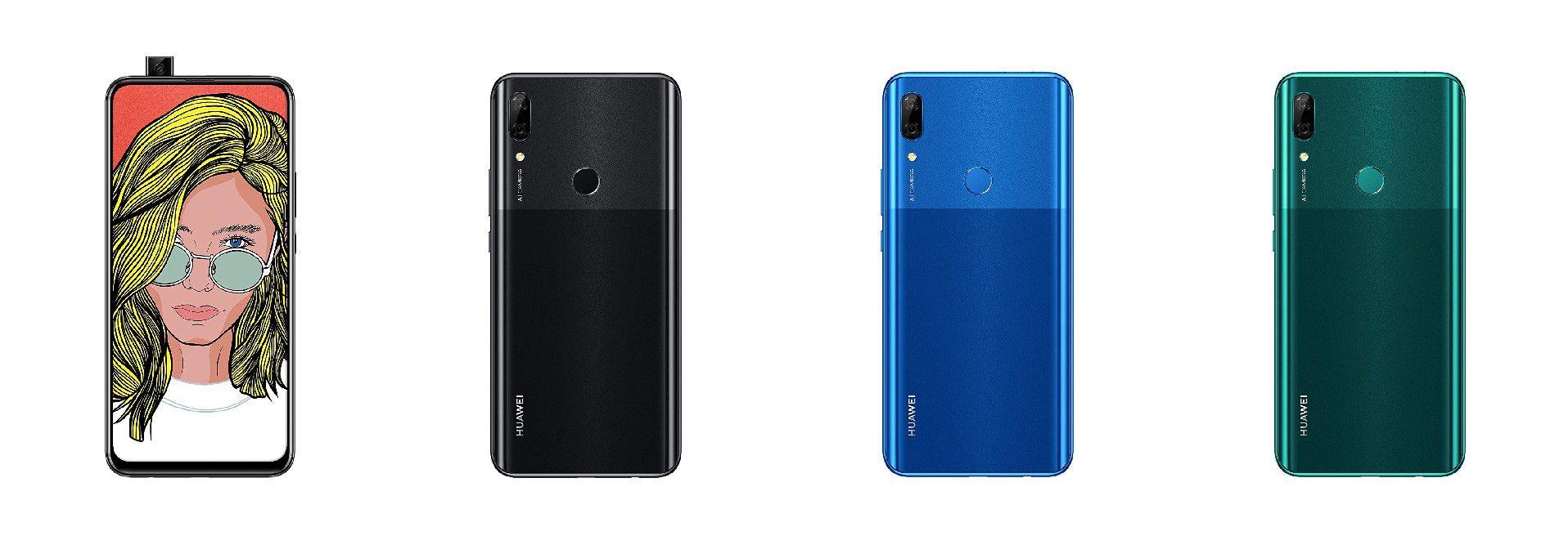 Huawei P Smart Z, lo smartphone con fotocamera pop-up, già disponibile su Amazon (ma non è ancora stato presentato)