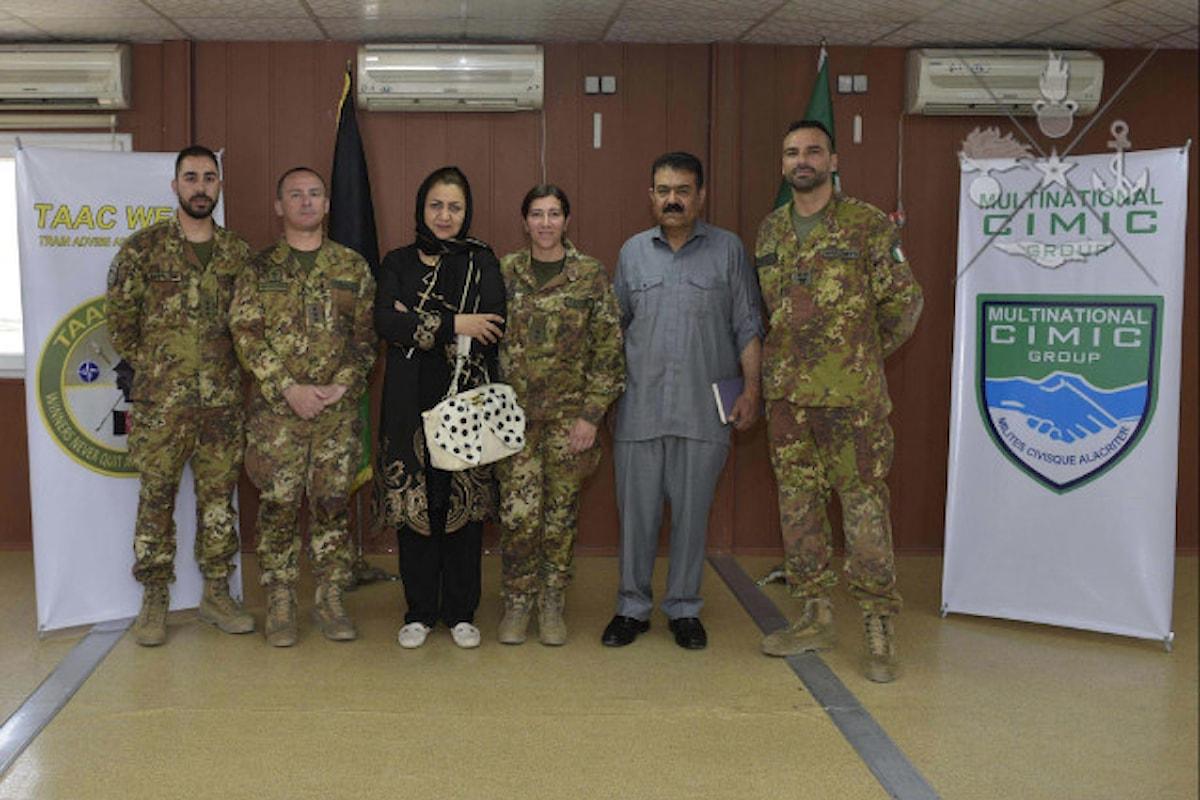 Afghanistan, militari italiani donano medicinali all'Ospedale Civile di Herat