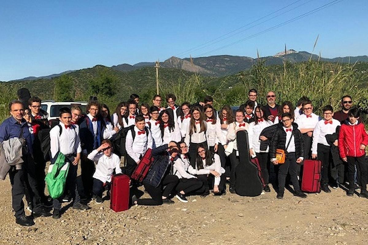 L'orchestra dell'Istituto Comprensivo di Petralia Soprana vince anche a Castelbuono