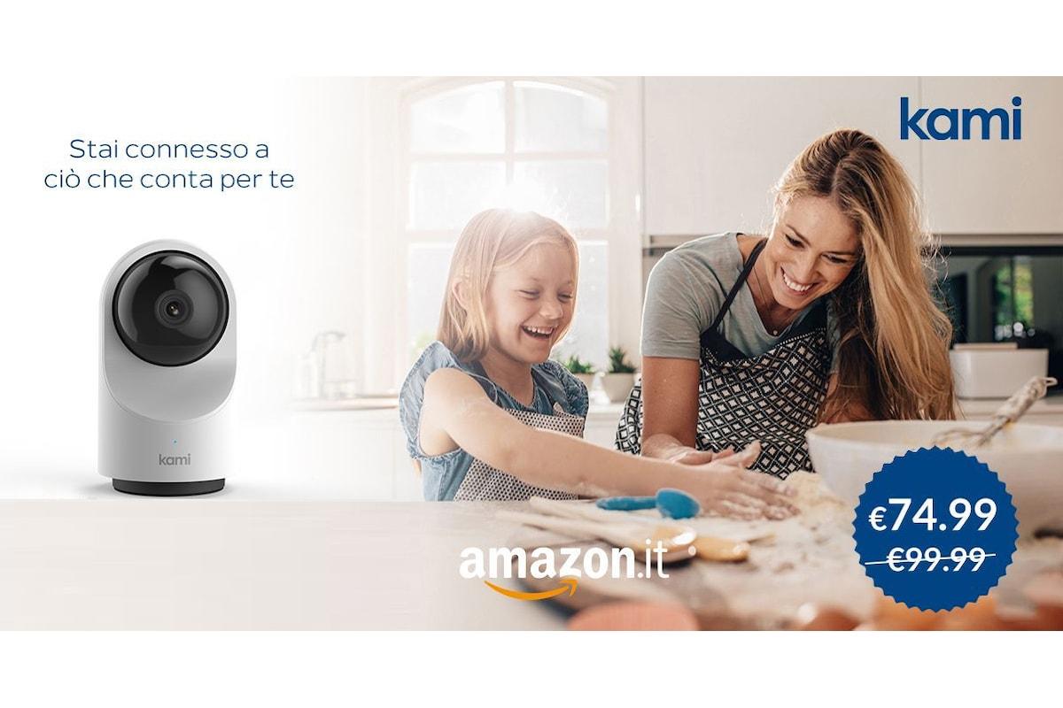 YI Technology lancia anche in Italia il brand KAMI con una IP camera in offerta