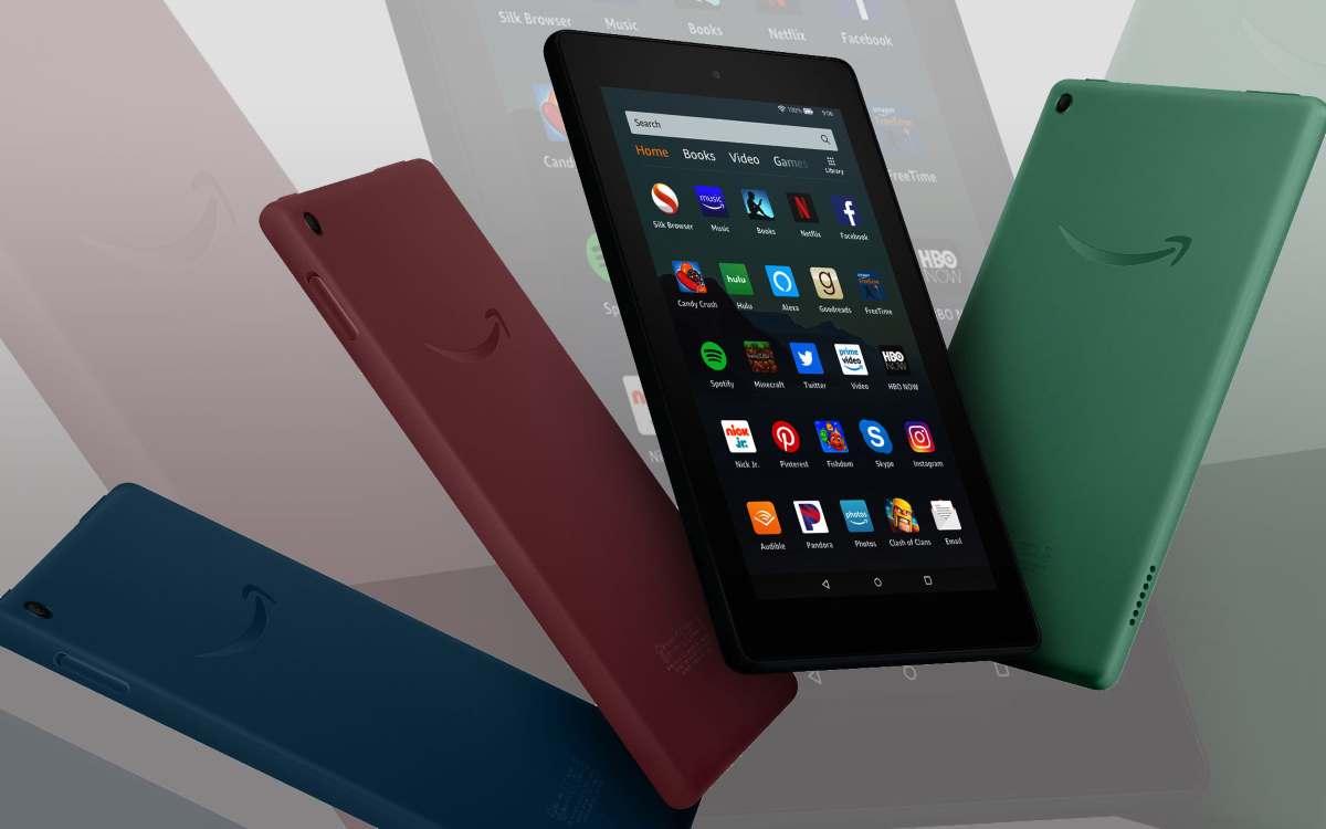 Amazon presenta il nuovo tablet Fire 7 di nona generazione: caratteristiche e prezzo