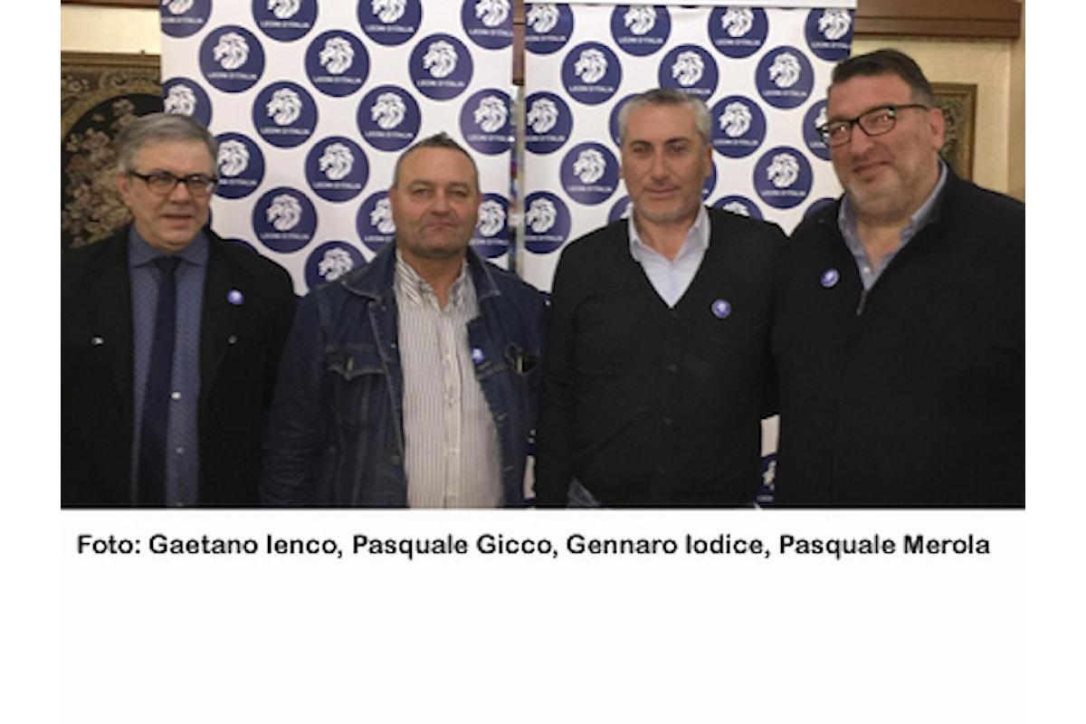 GENNARO IODICE candidato LEONI D'ITALIA per CURTI