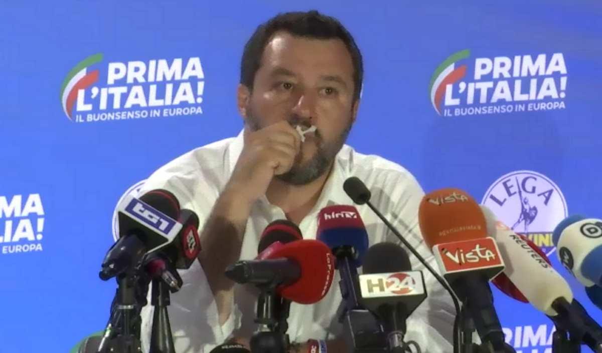 Il Gott Mit Uns di Salvini per supportare le sue scelte politiche