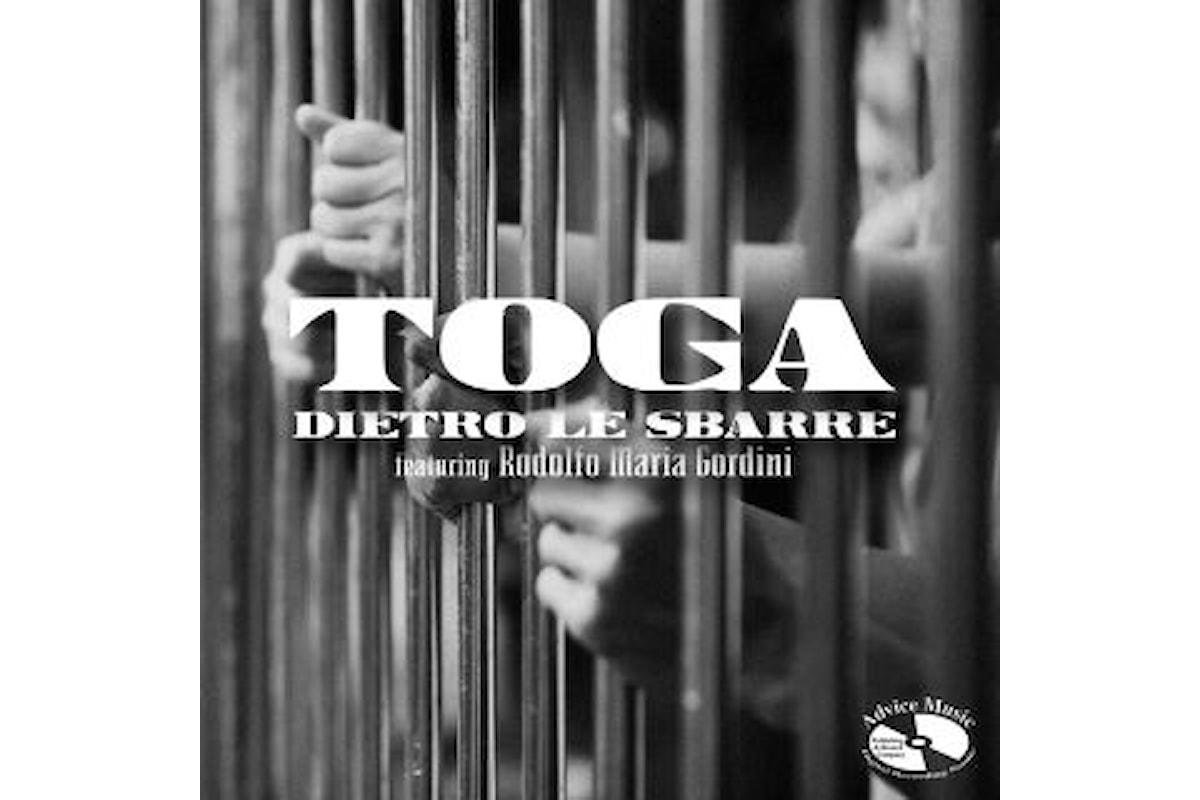 """Toga, """"DIETRO LE SBARRE"""" ft. Rodolfo Maria Gordini è il nuovo singolo della carismatica band milanese realizzato con l'affermato tenore lirico"""