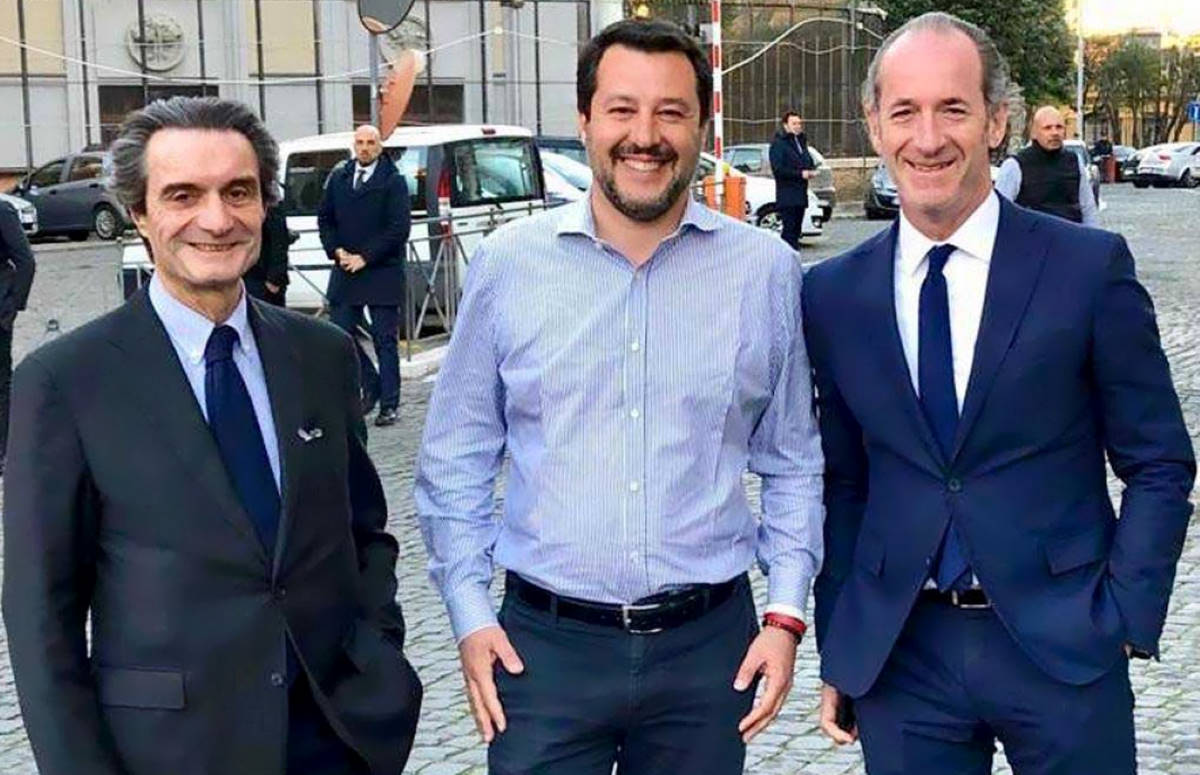 Sulle Autonomie Zaia, Fontana (e Salvini) sfiduciano Conte