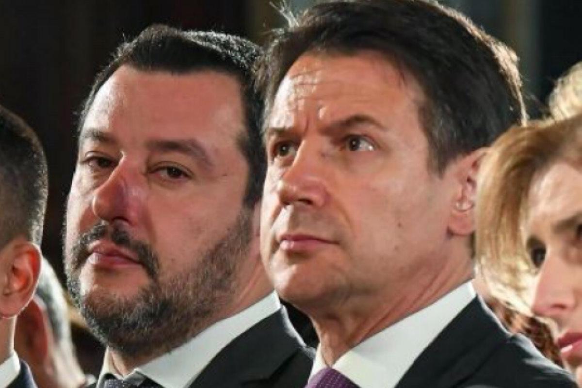 Conte sbugiarda Salvini, pubblicata la mail che conferma quanto il premier aveva già dichiarato al Senato