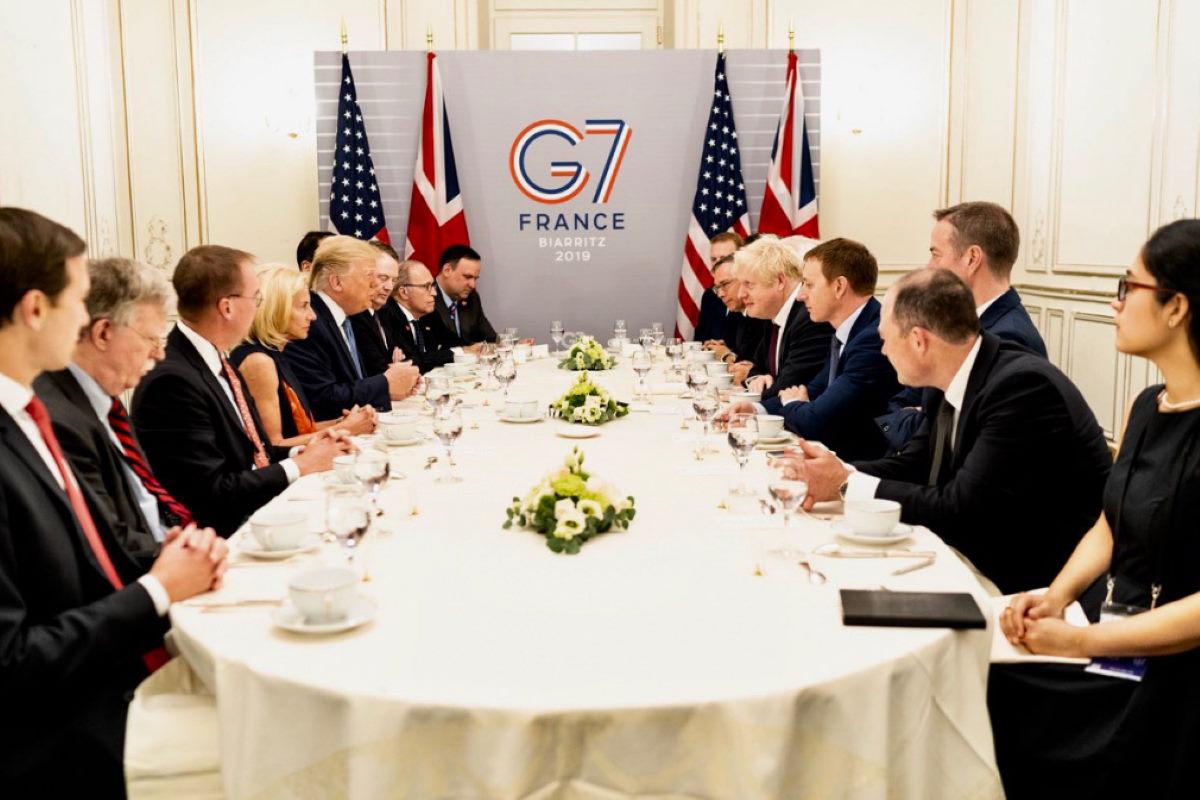 Trump nega tensioni con gli altri Paesi del G7, mentre plaude al Regno Unito libero dalla catena dell'Europa