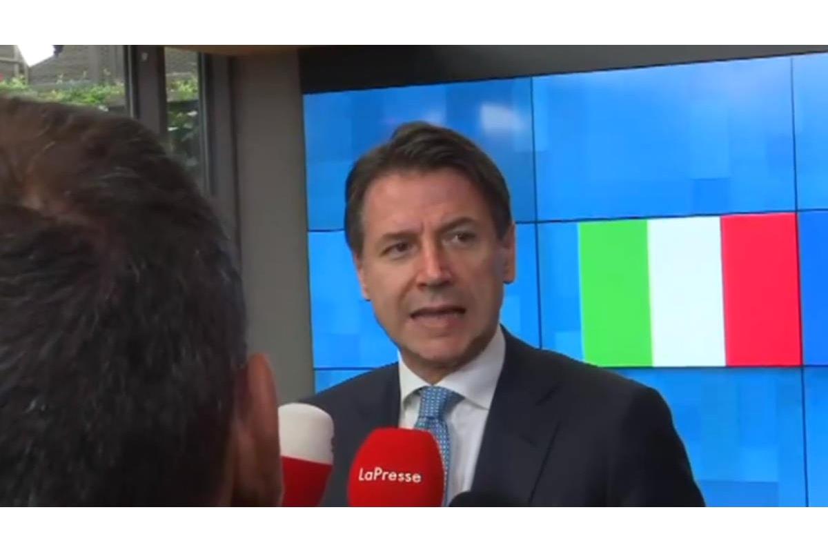 Conte: consonanza con le istituzioni europee. Adesso la svolta sui migranti?