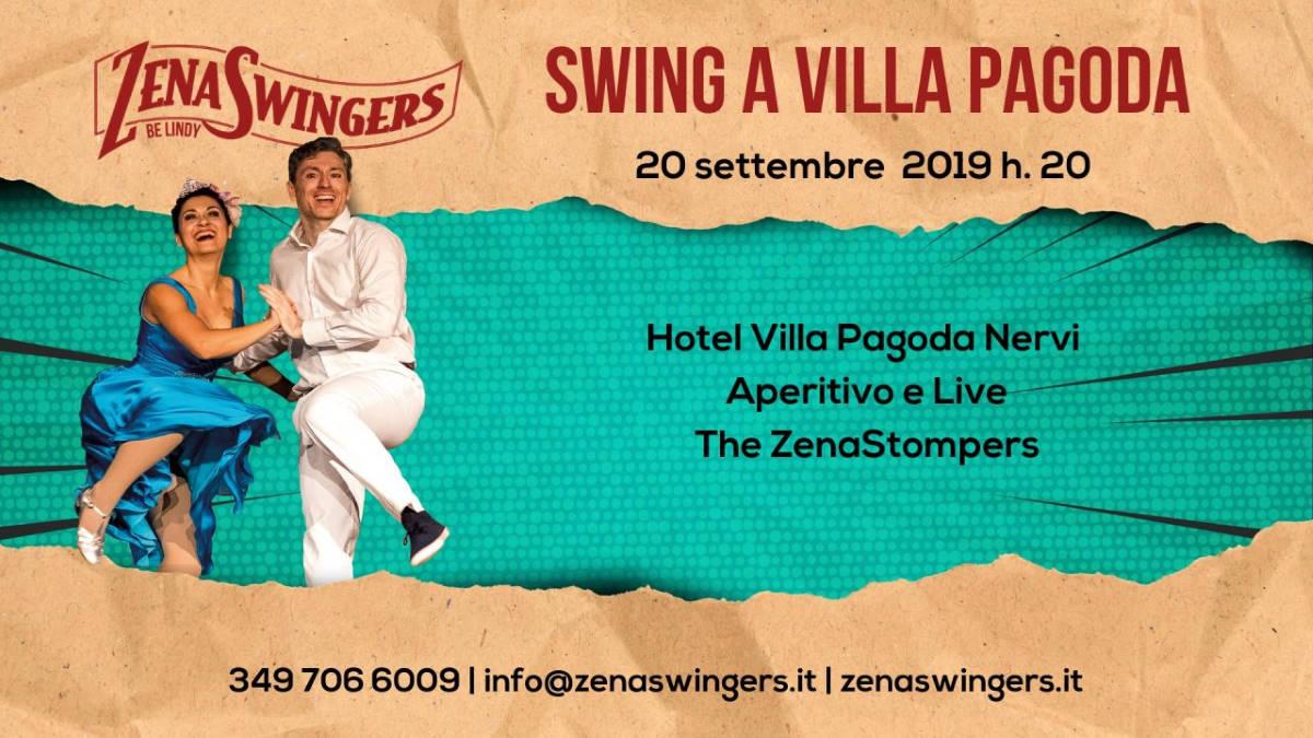 La magia dello swing a Villa Pagoda con gli Zenaswingers