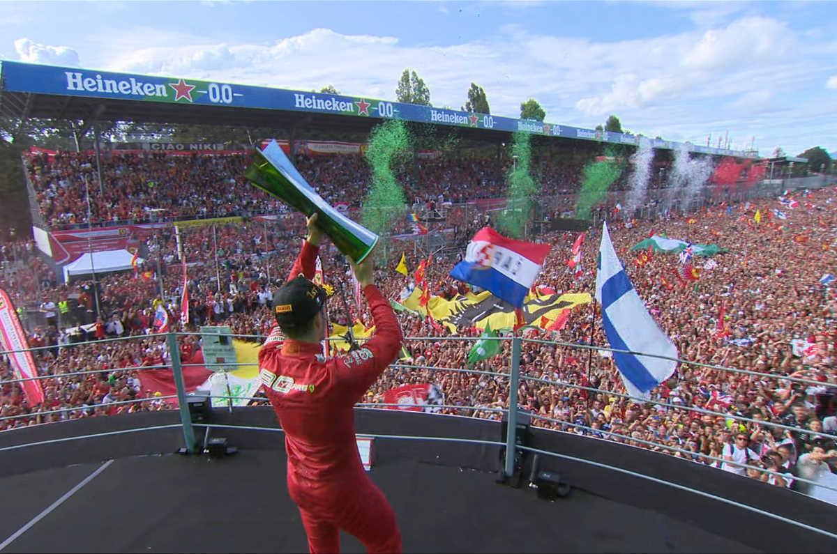 Leclerc troppo forte anche per Hamilton e la Ferrari vince anche a Monza