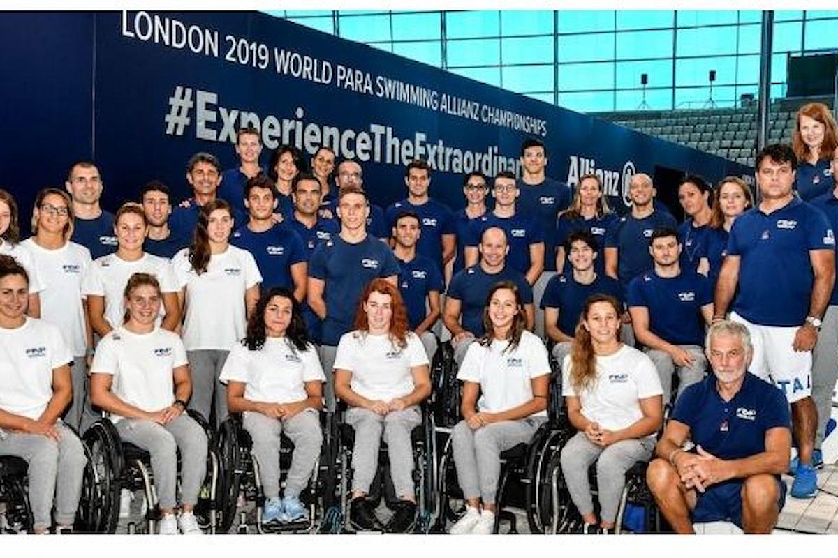 La Nazionale Italiana Nuoto Paralimpico sul tetto del mondo!