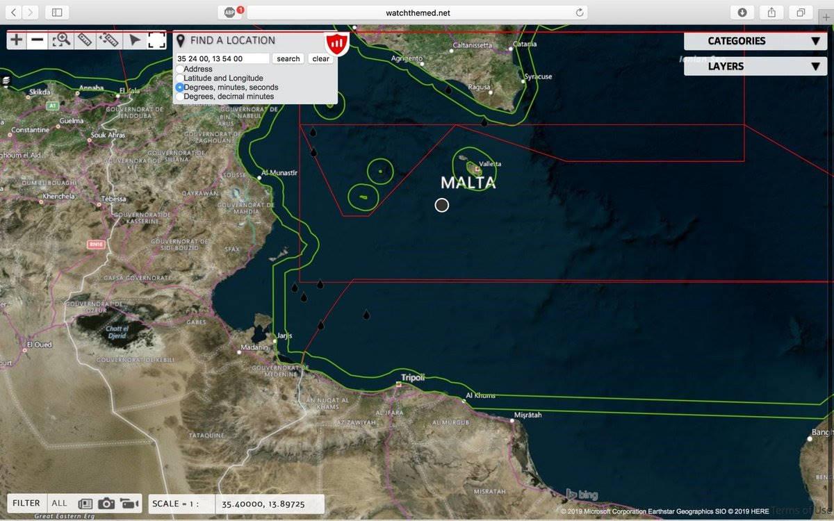 Malta ha preso in carico i 90 migranti salvati dalla Guardia Costiera italiana
