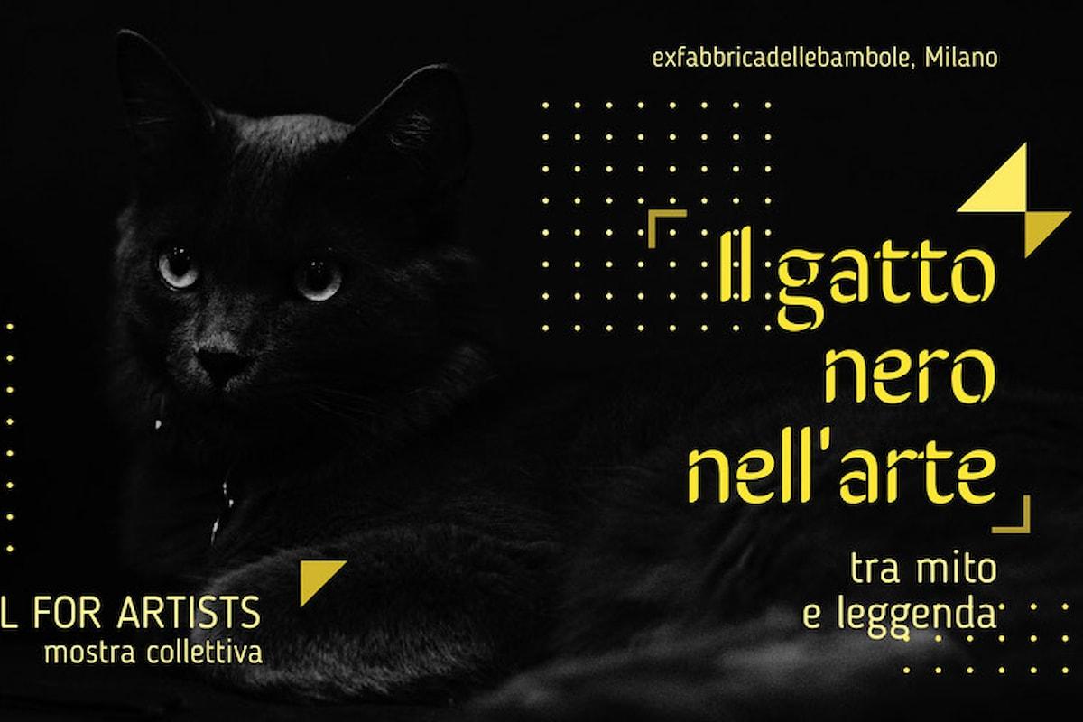 CALL FOR ARTISTS. Il gatto nero nell'arte