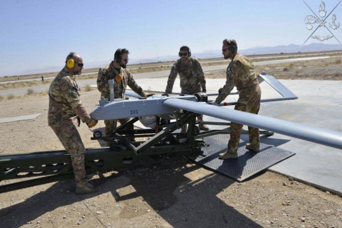 Herat: Shadow 20 dell'Aviazione Esercito Italiano raggiunge traguardo 3000 ore volo missione Afghanistan