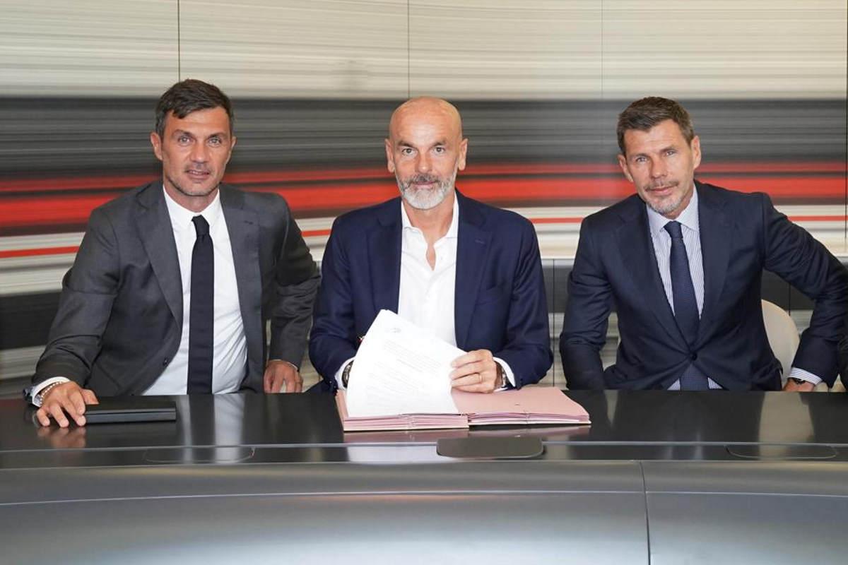 Milan, presentato il nuovo allenatore Stefano Pioli