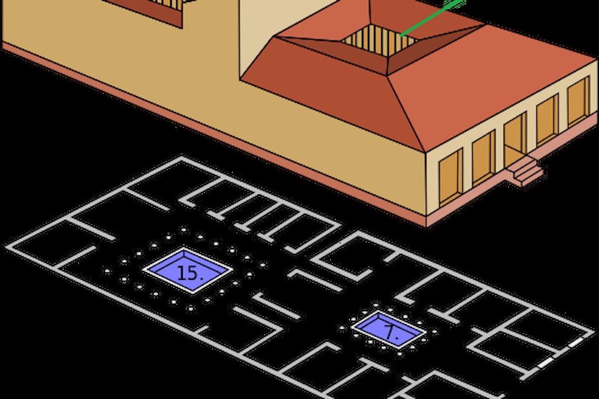 Le antiche case romane - Parte 3