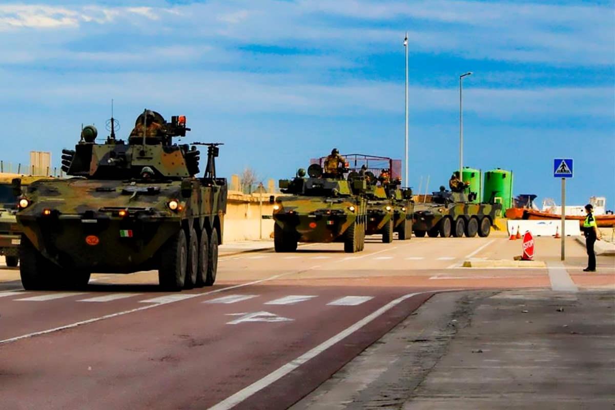 Spagna: Esercito Italiano impegnato in esercitazione Toro 2019 con 450 militari della Pinerolo