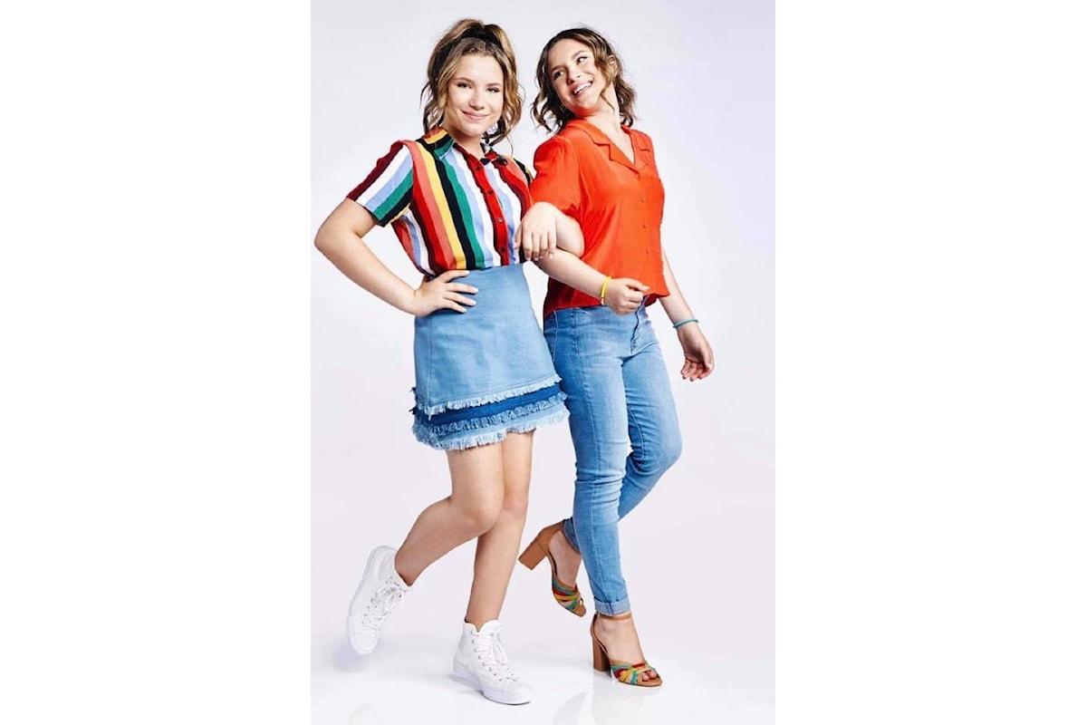 D'Ambrosio Twins, le giovani Bianca e Chiara, star americane in Italia