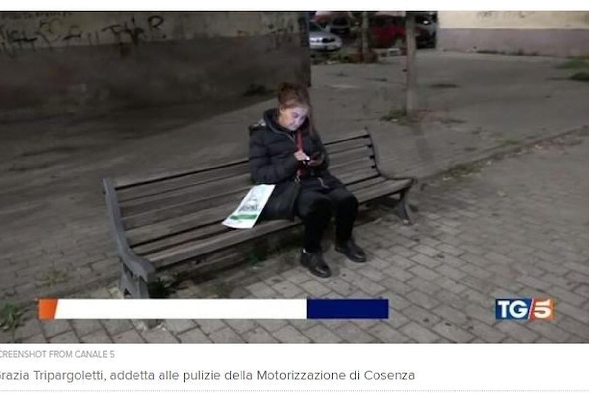 Cosenza: 61enne costretta a dormire in una panchina per arrivare in orario a lavoro