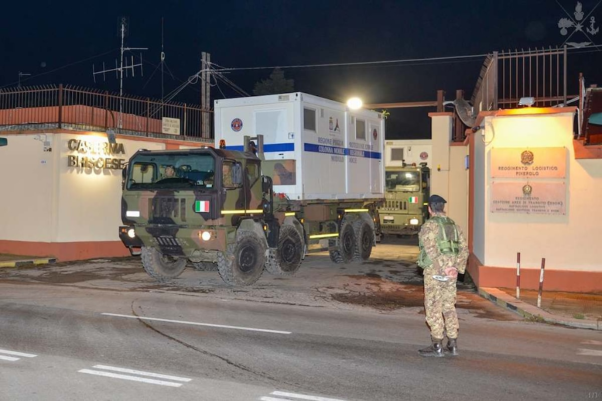Albania, militari italiani in prima linea nel supporto alla popolazione dopo il terremoto