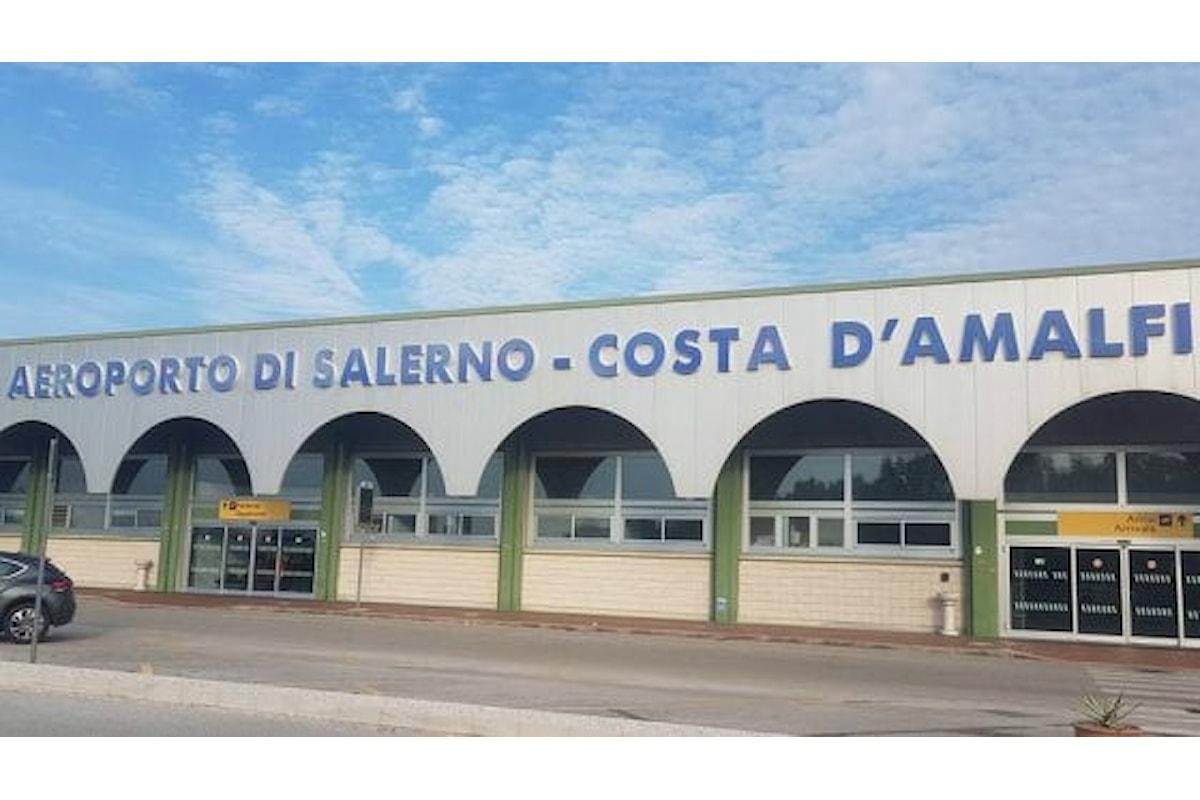 Ricorso al Tar per annullamento della Valutazione di impatto ambientale (VIA) dell'aeroporto Costa D'Amalfi Salerno: udienza 20 novembre