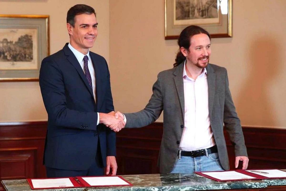 Spagna, Sanchez e Iglesias trovano l'accordo per governare insieme