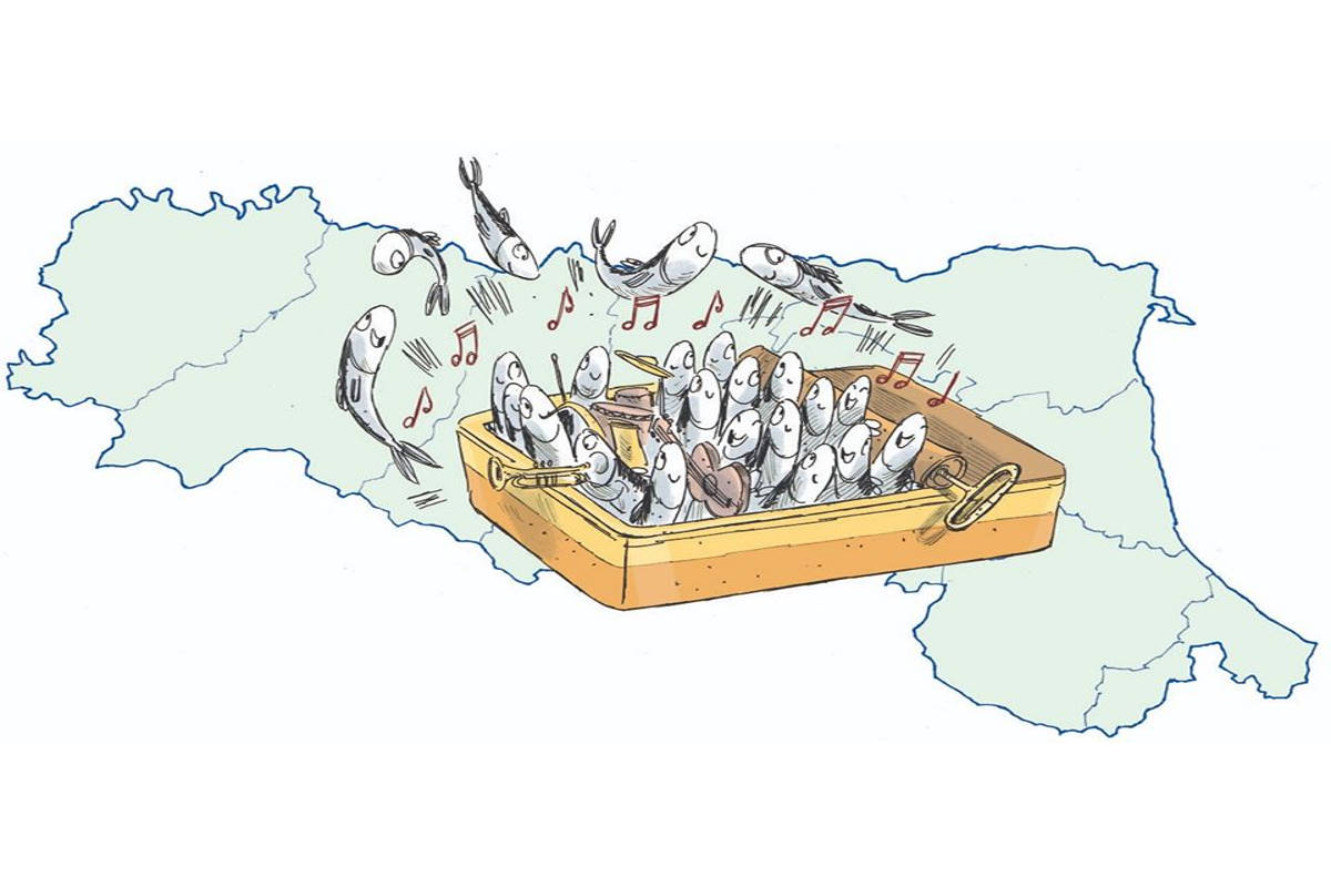 Le sardine si preparano per le regionali in Emilia Romagna
