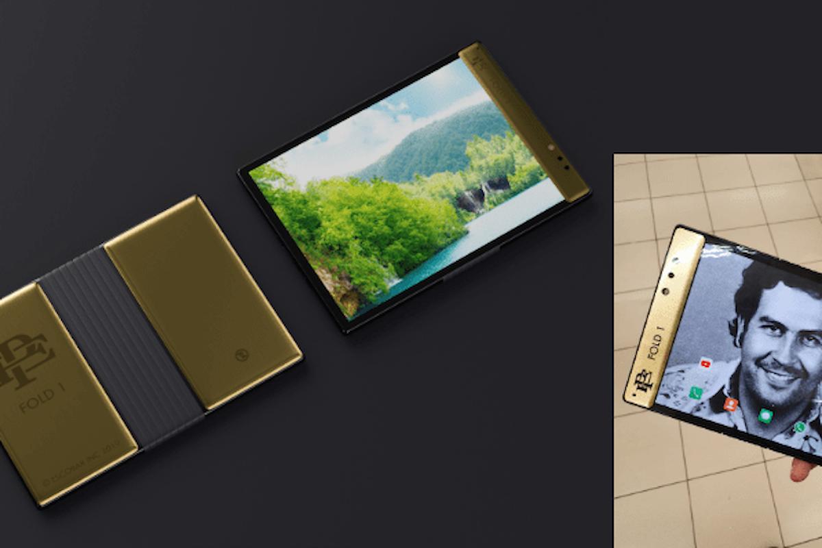 Escobar Fold 1 è lo smartphone con display pieghevole venduto dal fratello di Pablo Escobar