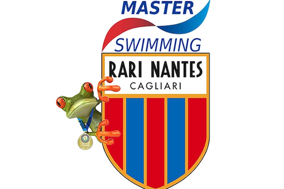 A Cagliari la Rari Nantes conquista il primo posto a Buon Natale Master 2019