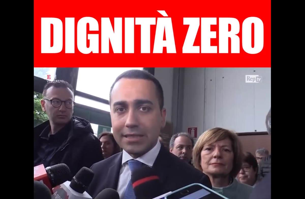 Buogiorno Matteo, Di Maio è un infame...