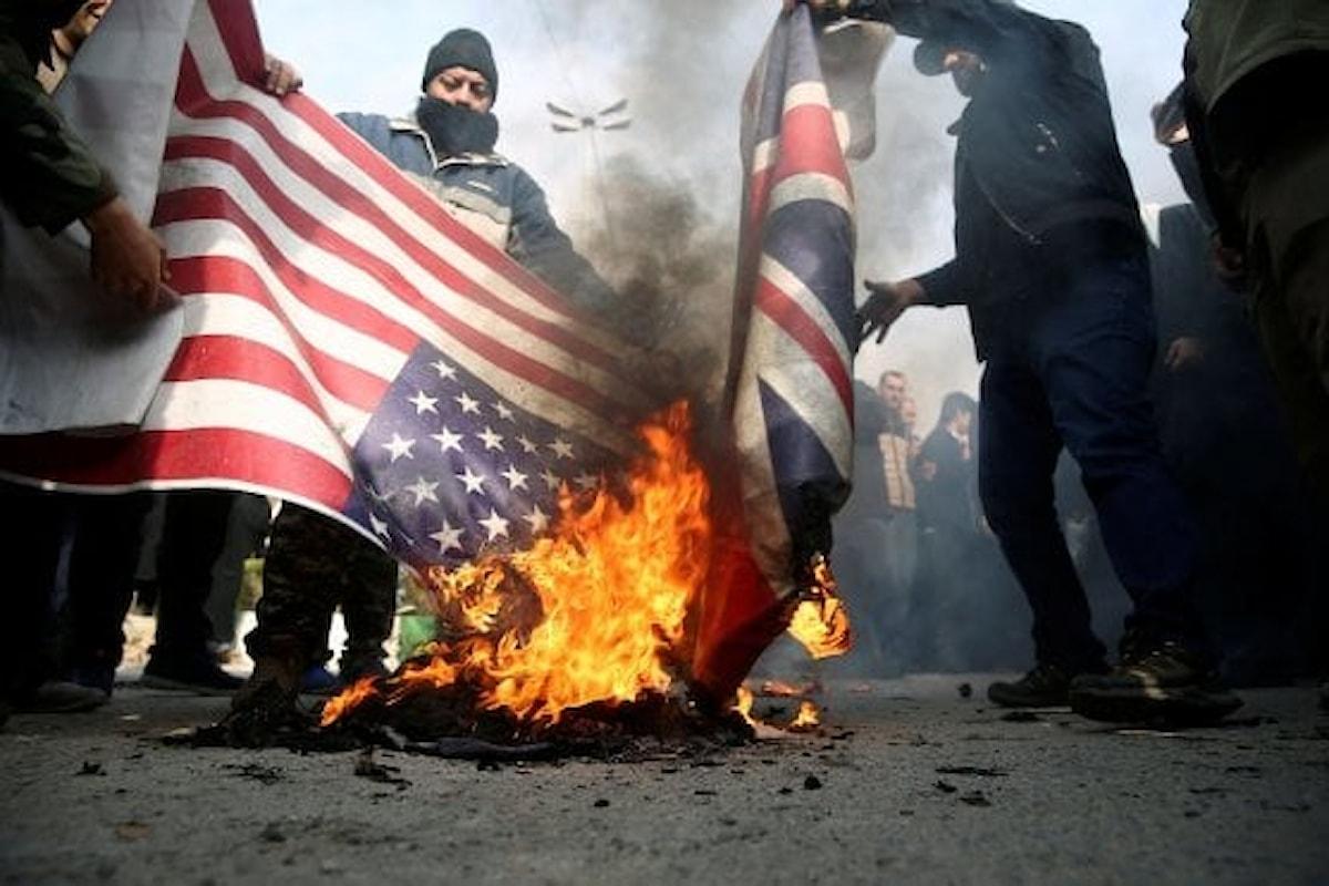 Iran contro gli Usa, attaccate basi in Iraq: venti di guerra