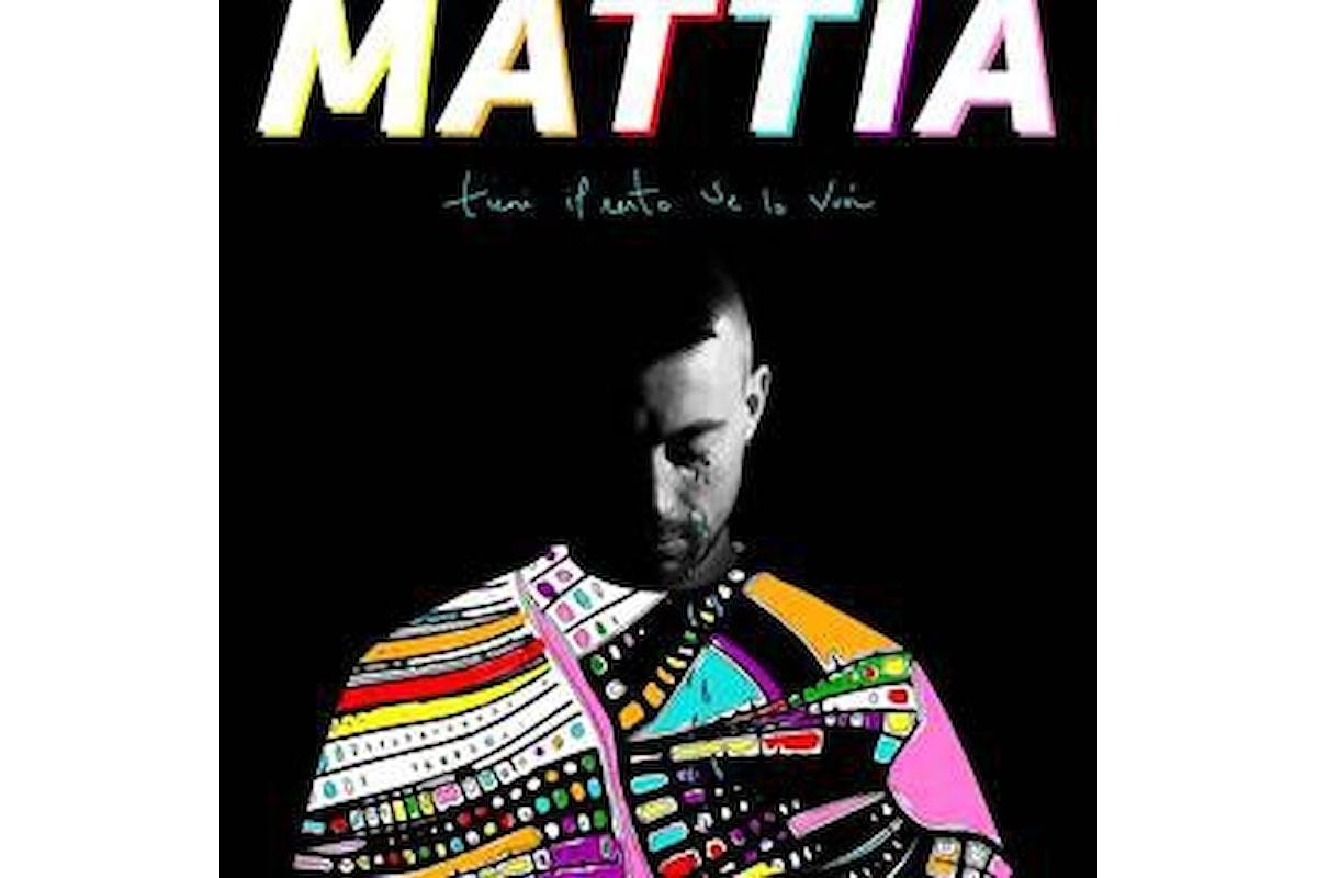 """MATTIA """"TIENI IL RESTO SE LO VUOI"""" è il secondo brano estratto dall'album di prossima uscita """"labirinti umani"""""""