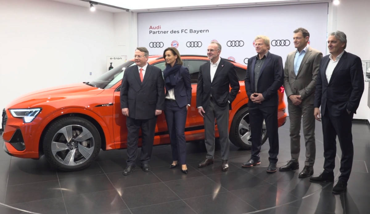 500 milioni nelle casse del Bayern Monaco grazie al rinnovo della partnership con Audi