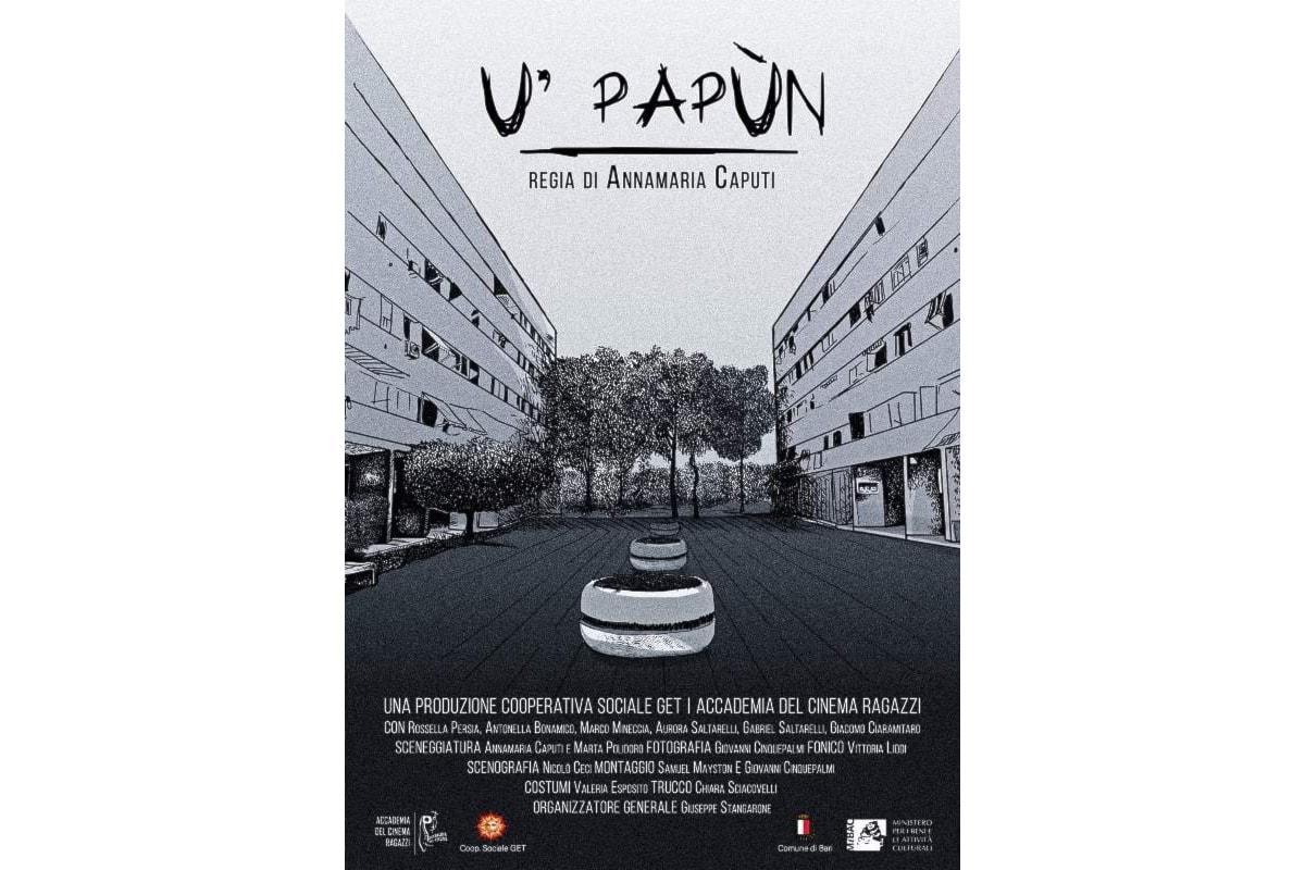 Rossella Persia di Fatti per il Successo Academy è tra le protagoniste del cortometraggio U' Papùn
