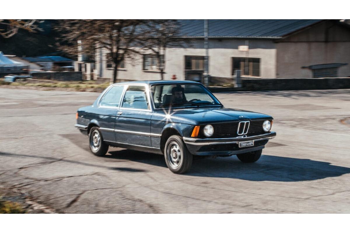 BMW 316 E21, la classe senza tempo