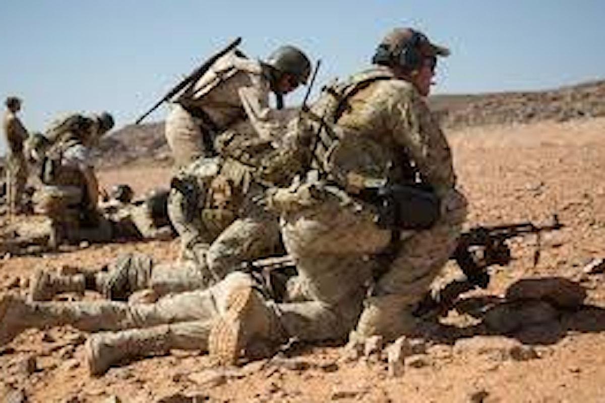 Africa: militari italiani delle Forze Speciali in azione nell'esercitazione internazionale antiterrorismo Flintlock 2020
