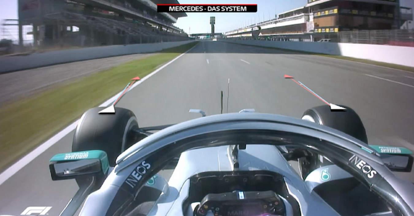 Formula 1, male la Ferrari nel primo test di Barcellona dove domina la Mercedes con la novità del DAS
