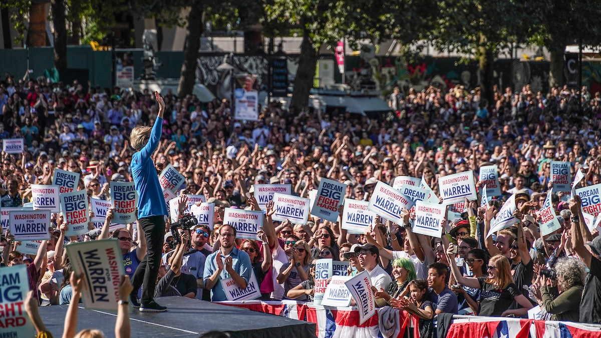 Presidenziali Usa, anche Elizabeth Warren annuncia il ritiro della sua candidatura
