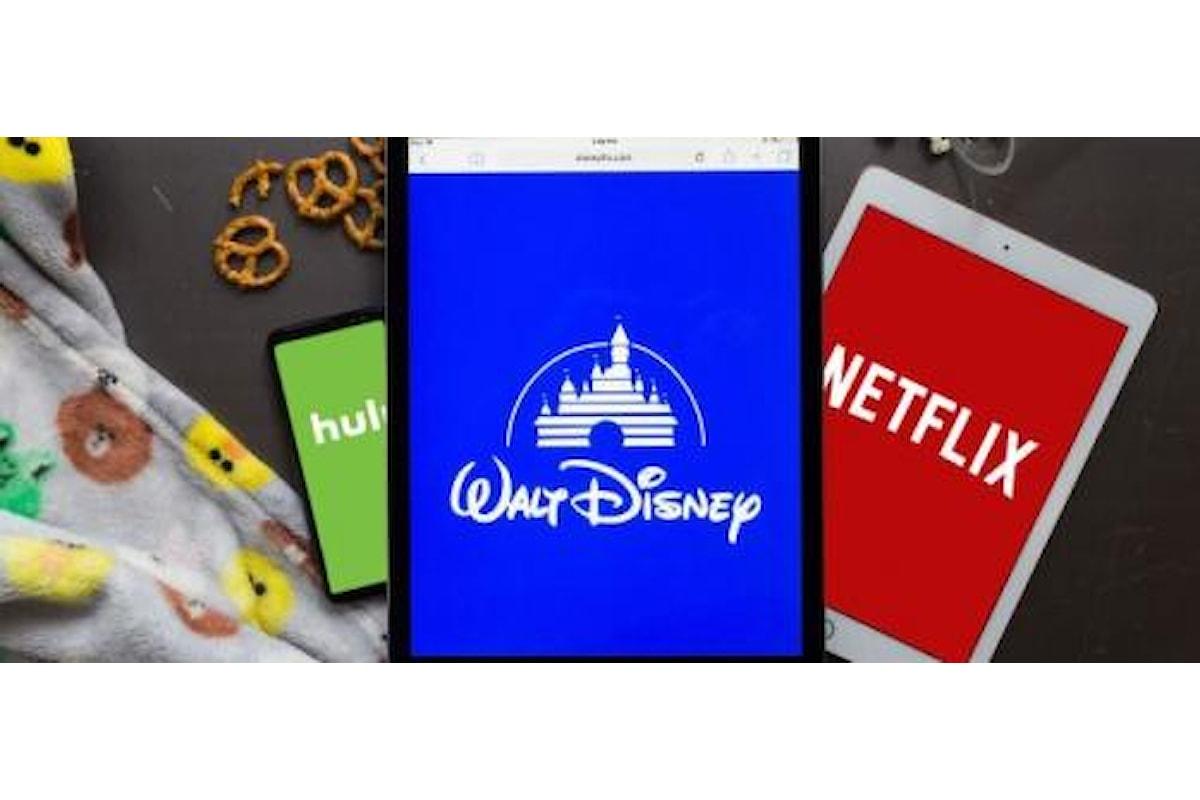 Disney superata in borsa da Netflix: massimo storico per le azioni della società californiana