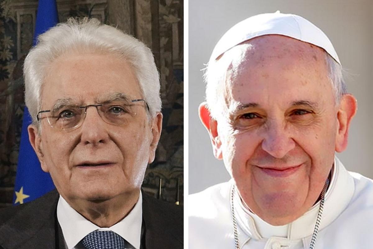 I messaggi di Sergio Mattarella e papa Franceso per la Pasqua al tempo della Covid