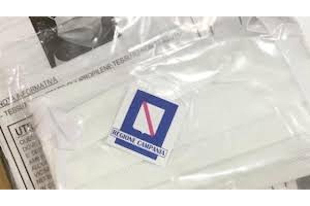 La Regione Campania dal 22 aprile distribuisce ai cittadini, attraverso Poste Italiane, 4 milioni di mascherine