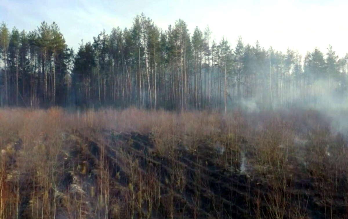 È ormai quasi spento l'incendio che per giorni ha minacciato la centrale atomica di Chernobyl