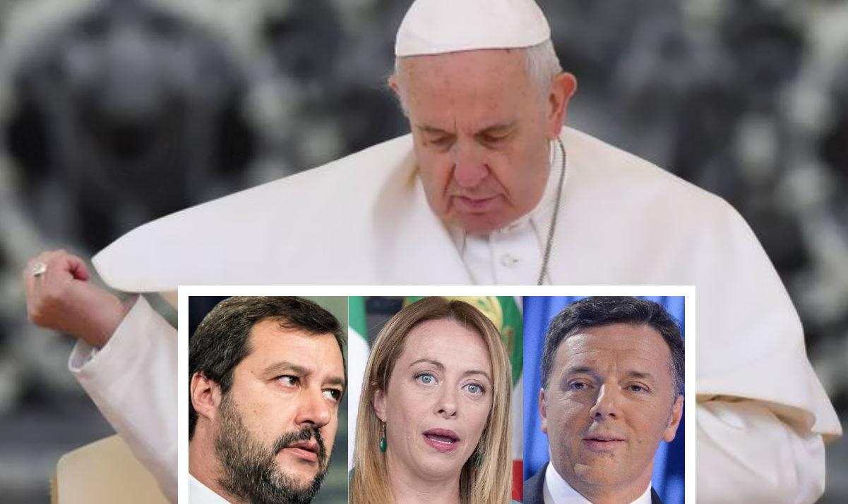Il Papa contro «il piccolo linciaggio quotidiano del chiacchiericcio che crea un'opinione»