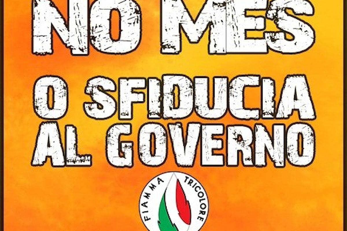 Il Movimento Sociale Fiamma Tricolore dice No al Mes
