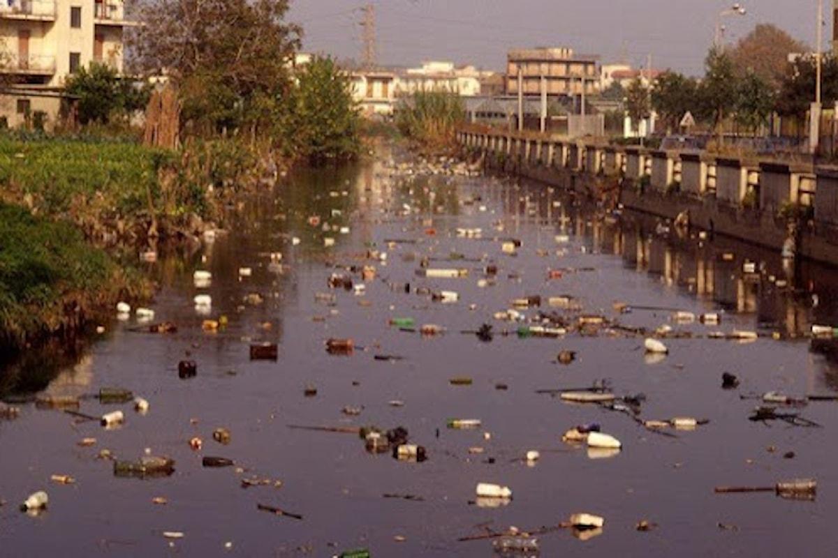 Il fiume Sarno è il fiume più inquinato d'Italia. Le acque limpide durante il lockdown ritornano torbide in fase due