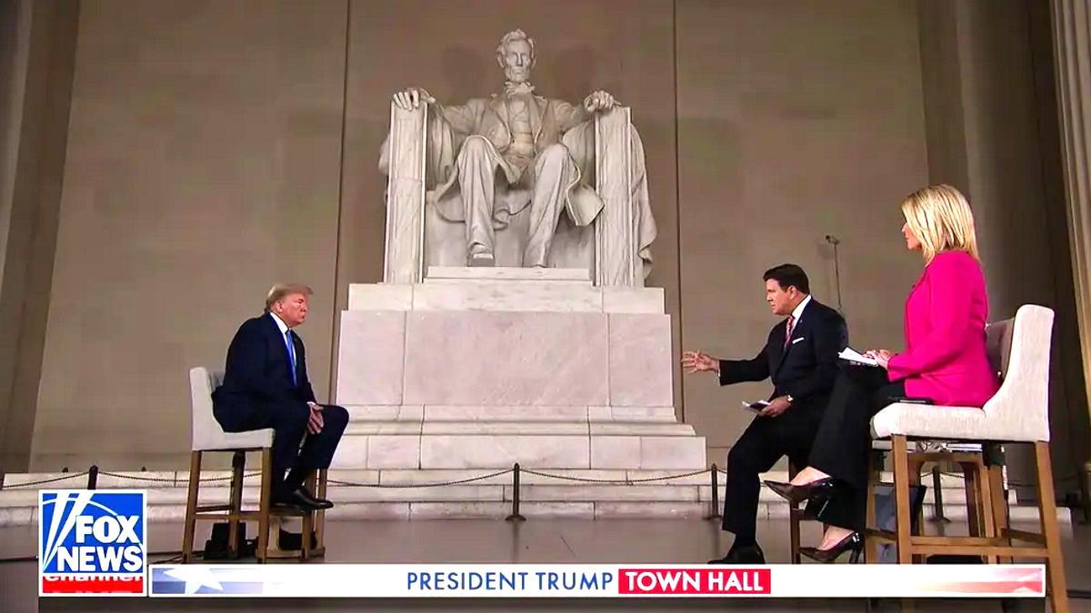 Trump utilizza Lincoln a supporto delle sue decisioni nell'affrontare l'emergenza coronavirus